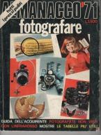 Almanacco Fotografare 1971,Foto - Materiale & Accessori