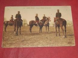 MILITARIA - ARMEE  BELGE  -   Groupe D'Officiers De Cavalerie - Autres
