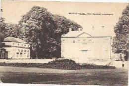 WUUSTWEZEL: Het Kasteel (voorkant) - Wuustwezel