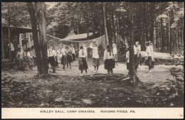 UNITED STATES - VOLLETBALL - CAMP OWAISSA - POCONO PINES - MINT - Volleyball