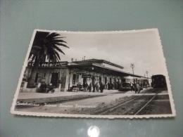 TRENO VETORINA INTERNO STAZIONE FERROVIARIA CASTELVETRANO TRAPANI - Stations With Trains