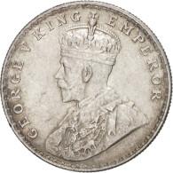 Inde Britannique, George V, Rupee, 1918, Bombay, Argent, KM:524 - India