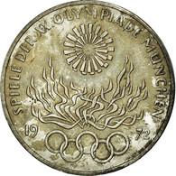 Monnaie, République Fédérale Allemande, 10 Mark, 1972, Hamburg, SUP+, Argent - [10] Commémoratives