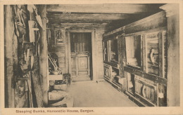 NORVEGE - NORGE - BERGEN - Sleeping Bunks , HANSEATIC HOUSE - Norway