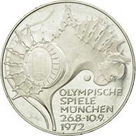 GERMANY - FEDERAL REPUBLIC, 10 Mark, 1972, Stuttgart, SUP+, Argent, KM:133 - [10] Commémoratives