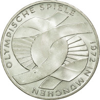 GERMANY - FEDERAL REPUBLIC, 10 Mark, 1972, Munich, SUP+, Argent, KM:131 - [10] Commémoratives