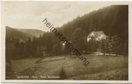 Lautenthal - Hotel Waldkater - Foto-AK - Verlag Julius Simonsen Oldenburg - Allemagne