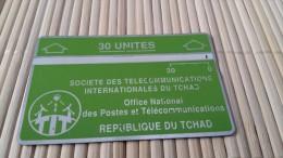 Landis & Gyr Tchad 105 B 00576 Used Rare ! - Tsjaad