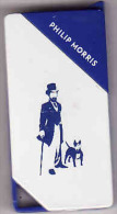 Briquet Matallique SNC, Philip Morris - Blue-bleu, Dog, Lighter, Feuerzeug,Accendino, Encendedor - Briquets