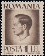 ROMANIA - Scott #569 King Mihael / Mint NH Stamp - 1918-1948 Ferdinand, Charles II & Michael