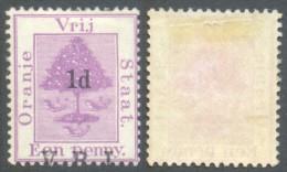 Orange Free State 1900. 1d V.R.I Surcharge Transposed. SG 102var. - South Africa (...-1961)