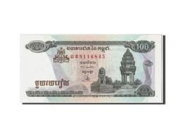 Cambodge, 100 Riels, 1995, KM:41a, Non Daté, NEUF - Cambodia
