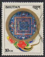 Bhutan SG656 1986 Kilkhor Mandalas Of Mahayana Buddhism 10ch Good/fine Used - Bhután