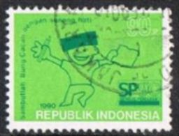 Indonesia SG1982 1990 Population Census 90r Good/fine Used - Indonesia