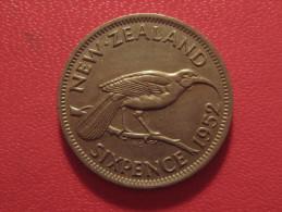 Nouvelle-Zélande - 6 Pence 1952 George VI 5326 - Nouvelle-Zélande