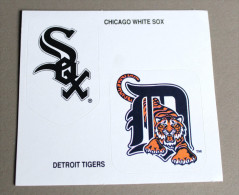 Autocollant Basket NBA Chicago White Sox Detroit Tigers Pub Frosties 1995 - Basketball - NBA