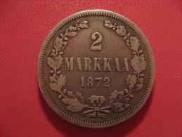 Finlande - 2 Markkaa 1872 3396 - Finlande
