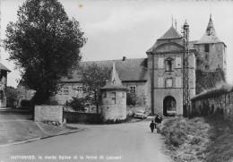 ( D14 - 359 - ) Anthisnes - La Vieille Eglise Et La Ferme St-Laurent - Anthisnes