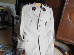 Uniforme De Sapeur - Pompier Monégasque  - Complet - Avec Insigne - - Uniforms