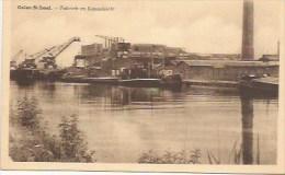 OLEN: Oolen - Sint - Jozef: Fabriek En Kanaalzicht - Olen
