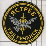 Ecusson / Patch. Russia. Police. Militia.  SWAT. OMON. Special Unit. Retchensk City - Police