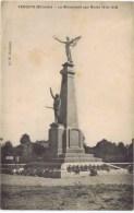 Cpa  VENDAYS   LE MONUMENT AUX MORTS 1914-1918 - France