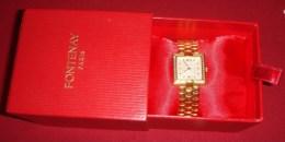 Montre FONTENAY Femme - Bracelet Maillons Souples - Quasi Neuve -50 %  (VOIR Description Et Photos) - Watches: Jewels