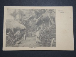 CEYLAN - COLOMBO - Native Huts - à Voir  P 14398 - Sri Lanka (Ceylon)