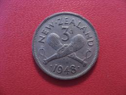 Nouvelle-Zélande - 3 Pence 1948 George VI 5343 - New Zealand
