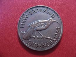 Nouvelle-Zélande - 6 Pence 1936 George V 5351 - New Zealand