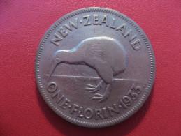 Nouvelle-Zélande - One Florin 1933 George V 5371 - New Zealand