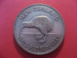 Nouvelle-Zélande - One Florin 1934 George V 5385 - New Zealand