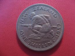 Nouvelle-Zélande - One Shilling 1957 Elizabeth II 5347 - New Zealand