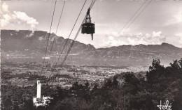Carte Postale Des Années 50 - Montagne - Alpinisme - Aix Les Bains - Téléférique Du Mt Revard - Le Lac - La Dent Du Chat - Alpinisme