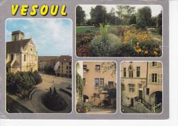 VESOUL (70-Haute Saône) Eglise St Georges, Jardin Anglais, Passage, Maison Barresols, Ed. Yvon 1980 Environ - Vesoul