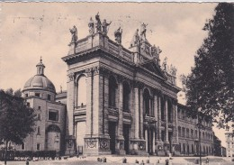 Italy 1950 Used Postcard Roma Basilica Of St John In Lateran, Postmark Panettone Motta - 6. 1946-.. Repubblica