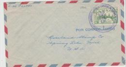 Pan074 /  Panama, General Herrera 1956 , USA - Panama