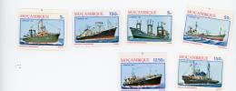 Mozambique-1981-Bateaux De Pêche-journée De La Marine-YT 833/5***mnh - Bateaux