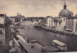 Italy 1951 Used Postcard, Venezia Chiesa Di S. Simeone, Postmark 10 Ottobre Termine Per La Presentazione Delle Dichiara - 6. 1946-.. Repubblica