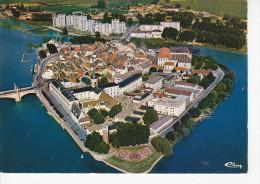 CHALON SUR SAONE (71-Saône Et Loire) Vue Générale Aérienne De L'Île De St Laurent, Ed. Cim 1980 Environ - Chalon Sur Saone