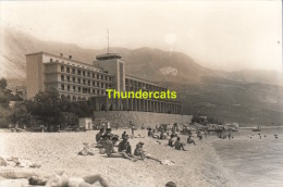 CPA FOTO PHOTO YUGOSLAVIA TUCEPI HOTEL JADRAN - Yougoslavie