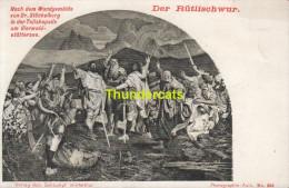 CPA DER RUTLISCHWUR SCHLUMPF WINTERTHUR - UR Uri
