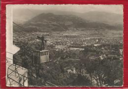 GRENOBLE - Dépt 38 - Le Téléférique Et Vue Générale - 1953 - Grenoble