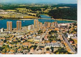 MONTCEAU LES MINES (71-Saône Et Loire) Vue Générale Aérienne,  Ed. Cim 1982 - Montceau Les Mines