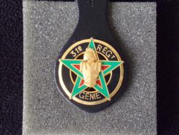 """Insignes Militaire """"31ème Régiment Du Génie De CASTELSARRASIN"""" -  Military Badges - - Armée De Terre"""