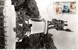 Carte Maximum  - Cachet PJ  -Noël Ballay à CONAKRY -A.O.F - Brieven En Documenten