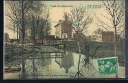 PONT - SAINT - MAXENCE . Pont Rustique Sur La Frette . - Pont Sainte Maxence