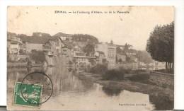 CPA 88 Epinal Le Faubourg D'Alsace Vu De La Passerelle - Epinal