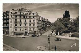 CPSM 34 MONTPELLIER Place De La Gare Et Rue De La Republique - Montpellier