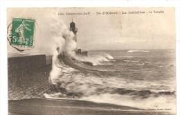 CPA 17 Ile D'Oléron La Cotinière Sous La Tempête - Ile D'Oléron